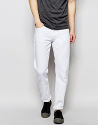 Wood Wood Jeans In White Regular Fit