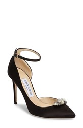Jimmy Choo Women's Rose D'orsay Pump With Jeweled Clip
