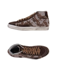 Primabase High Tops And Trainers Dark Brown