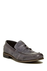 Kenneth Cole Home Perf Penny Loafer Gray