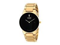Citizen Au1062 56E Eco Drive Axiom Gold Tone Stainless Steel Dress Watches