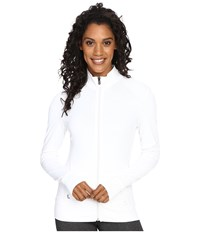 Lole Essential Up Cardigan White Women's Workout