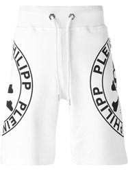 Philipp Plein 'Jogging' Shorts White