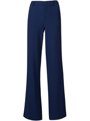 Alice Olivia Alice Olivia 'Paula' High Waisted Trousers Blue