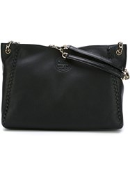Tory Burch 'Marion' Tote Black