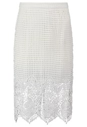 New Look Pencil Skirt White