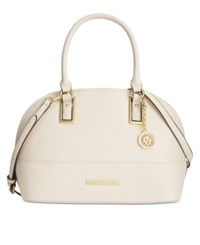 Anne Klein Shimmer Down Large Dome Satchel Sugar