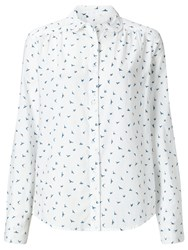 John Lewis Collection Weekend By Indiana Shirt White Blue