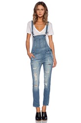 Black Orchid Skinny Overall Blue