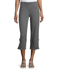Neon Buddha Joey Vented Capri Pants Eternity Slate Women's