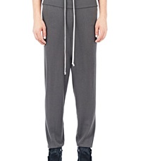 Rick Owens Long Drawstring Lounge Pants Brown