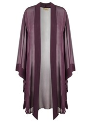 Adriana Degreas Beach Cover Up Pink Purple