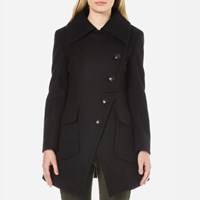 Vivienne Westwood Anglomania Women's Military Coat Black