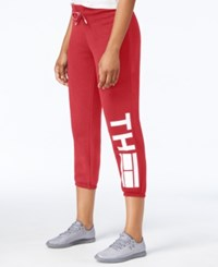 Tommy Hilfiger Logo Sweatpants Only At Macy's Scarlet