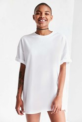 Silence And Noise Tower Tunic Tee White
