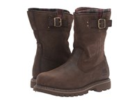 Caterpillar Jenny Steel Toe Bark Merina Women's Work Pull On Boots Brown