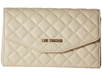 Love Moschino Evening Bag Cream Bags Beige