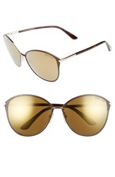 Tom Ford Women's 'Penelope' 59Mm Sunglasses Brown Super Bronze Brown Super Bronze