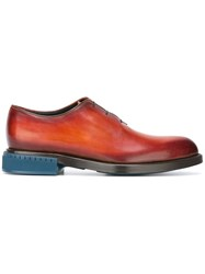 Berluti 'Alessandro' Derby Shoes Brown