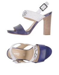 Alberto Gozzi Footwear Sandals Women Blue