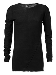 Lost And Found Scoop Neck Sweater Black