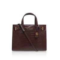 Kurt Geiger Croc London Tote Wine