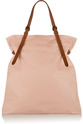 Tomas Maier Leather Tote Pink
