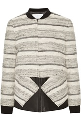 Thakoon Cotton Blend Boucle Jacket