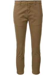 Nili Lotan French Military Trousers Brown
