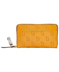 Dooney And Bourke St. Louis Cardinals Leather Wristlet Red