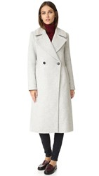 Club Monaco Daylina Coat Light Heather Grey