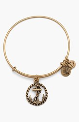 Women's Alex And Ani Nautical Bangle Bracelet Gold