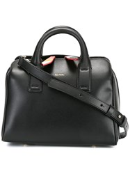 Paul Smith Double Strap Medium Tote Black