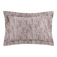 Somma Peacock Pillowcases Set Of 2 Mauve