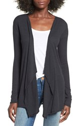 Volcom Women's 'Lived In' Rib Knit Cardigan