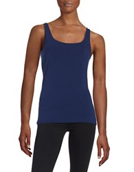 Lord And Taylor Iconic Slim Fit Tank Navy Night