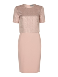 Mary Portas Sparkle Tee Semi Body Con Dress Rose