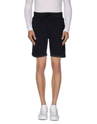 Hydrogen Trousers Bermuda Shorts Men Black