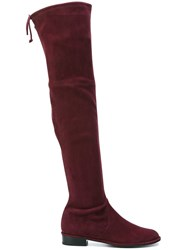Stuart Weitzman 'Low Land' Boots Pink And Purple