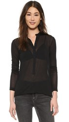 Superfine Smith Blouse Black
