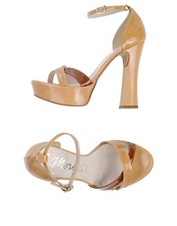 Andrea Morelli Sandals Light Brown
