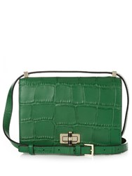 Diane Von Furstenberg 440 Gallery Les Cross Body Bag Green