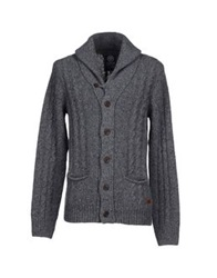 Franklin And Marshall Cardigans Grey