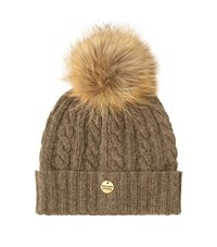 Holland Cooper Cable Knit Bobble Hat Female