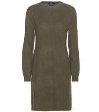 Polo Ralph Lauren Cashmere Sweater Dress Green