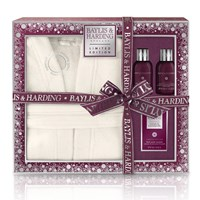 Baylis And Harding Midnight Fig Pomegranate Gown Set