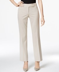Calvin Klein Fit Solutions Straight Leg Trousers Only At Macy's Khaki