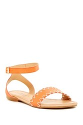 Elegant Footwear Maribela Sandal Orange