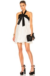 Zimmermann Winsome Suspend Bow Dress In White Floral White Floral