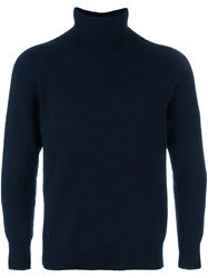 Barena Turtleneck Sweater Blue